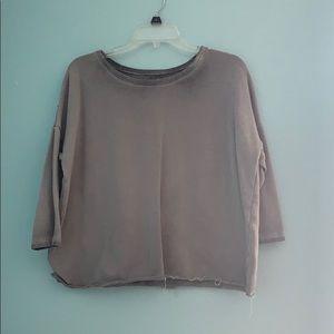 AEO Charcoal Sweater